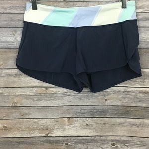 Lululemon Navy Blue Speed Shorts